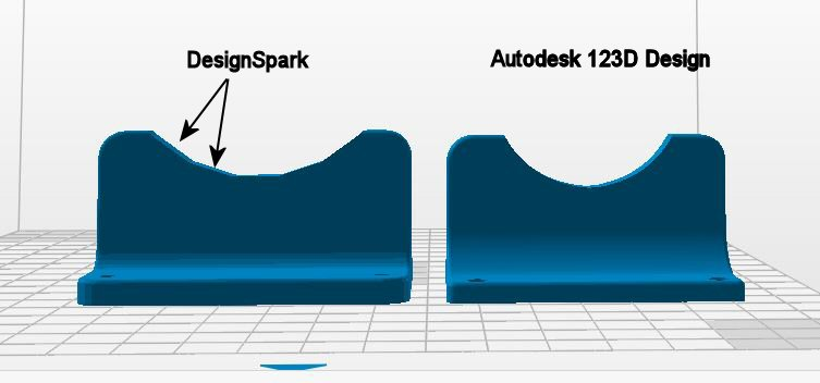 DesignSpark vs Autodesk 123D - 3D modeling software - Forum Zortrax